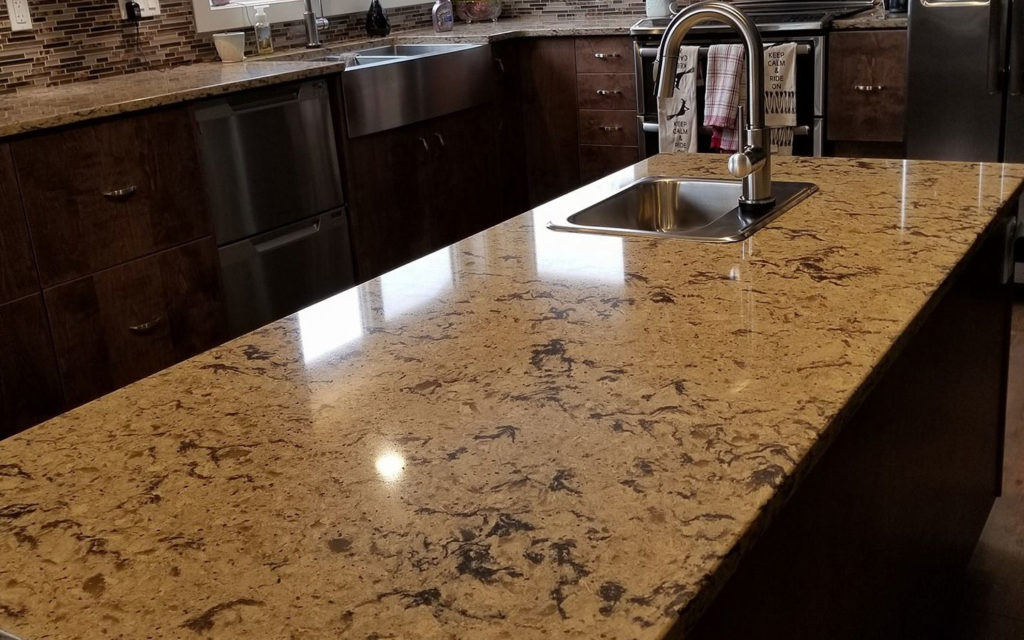Residential-Jenny's Cleaning-Service-Granite- Countertops